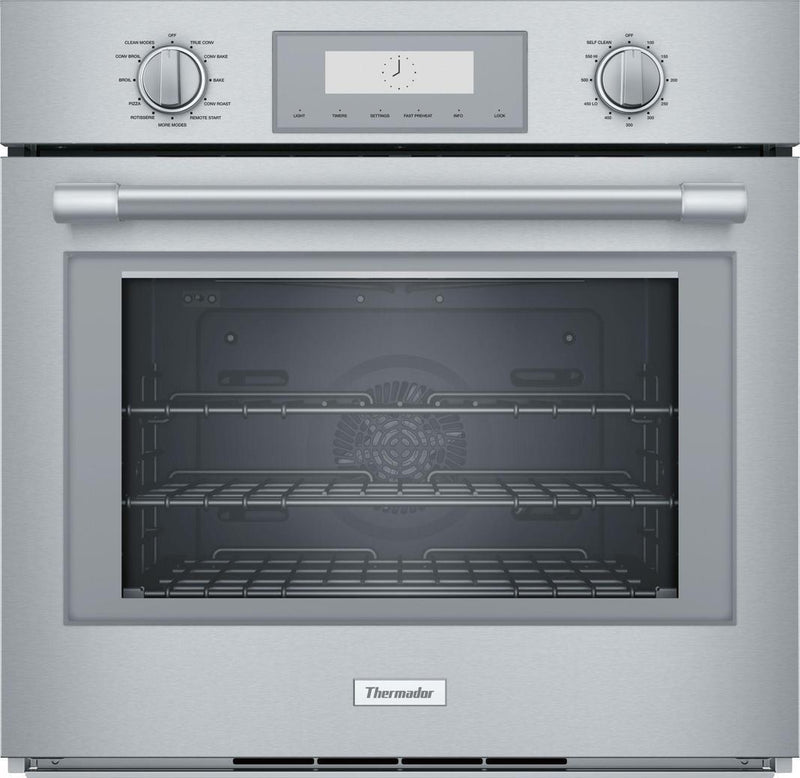 Thermador - 4.5 cu. ft Single Wall Oven in Stainless - POD301W
