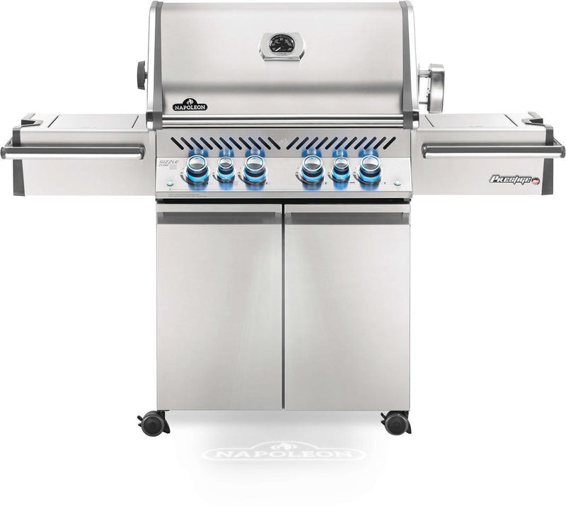 Napoleon Grills - 6 Burner Natural Gas BBQ in Stainless - PRO500RSIBNSS-3