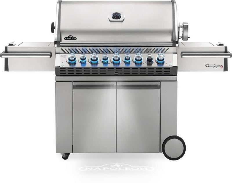 Napoleon Grills - 8 Burner Natural Gas BBQ in Stainless - PRO665RSIBNSS-3