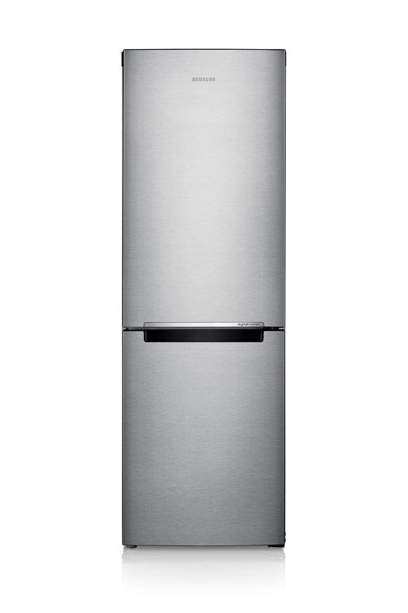 Samsung - 23.4 Inch 10.3 cu. ft Bottom Mount Refrigerator in Stainless - RB10FSR4ESR