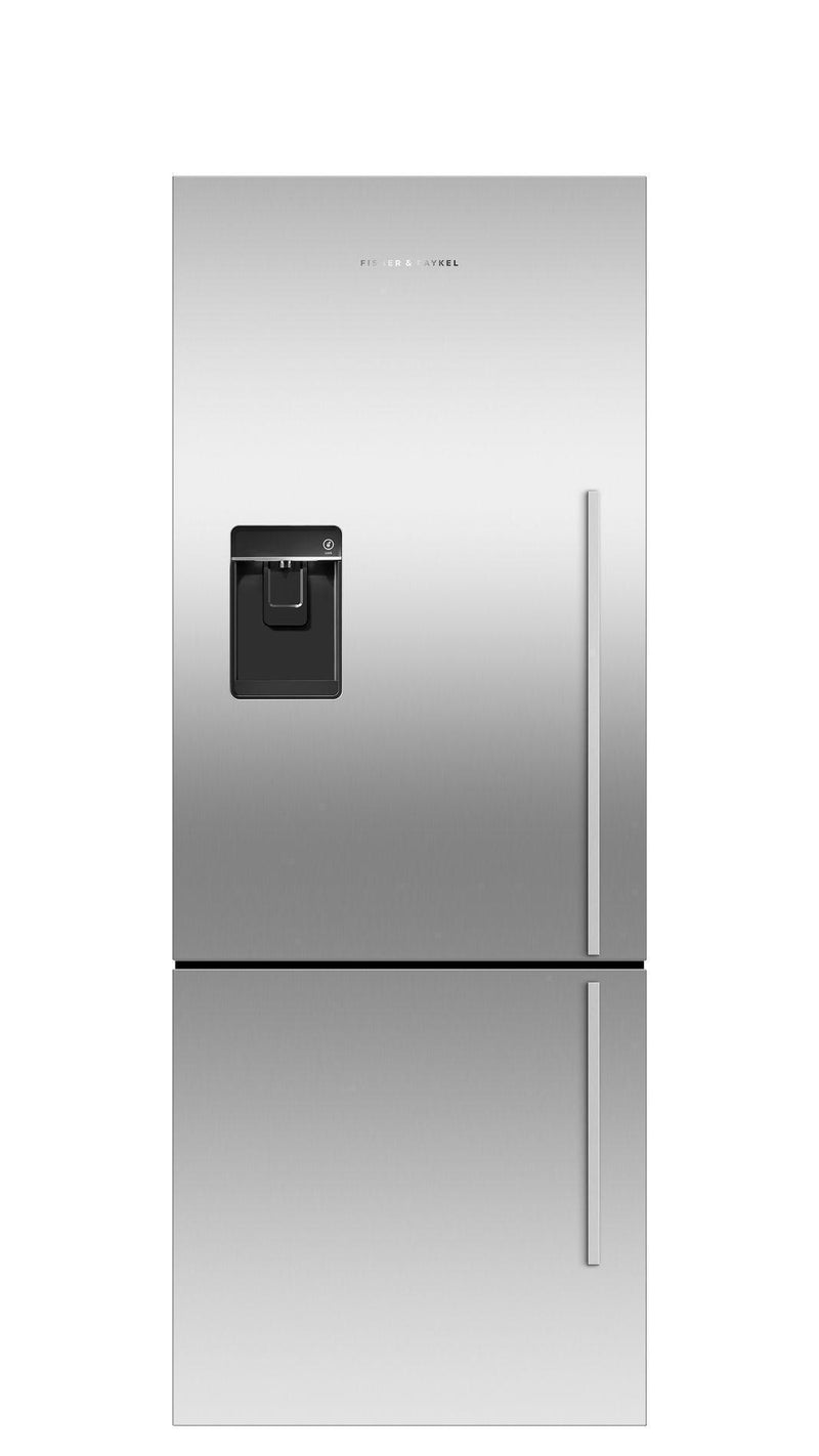 Fisher Paykel - 25 Inch 13.4 cu. ft Bottom Mount Refrigerator in Stainless - RF135BDLUX4 N