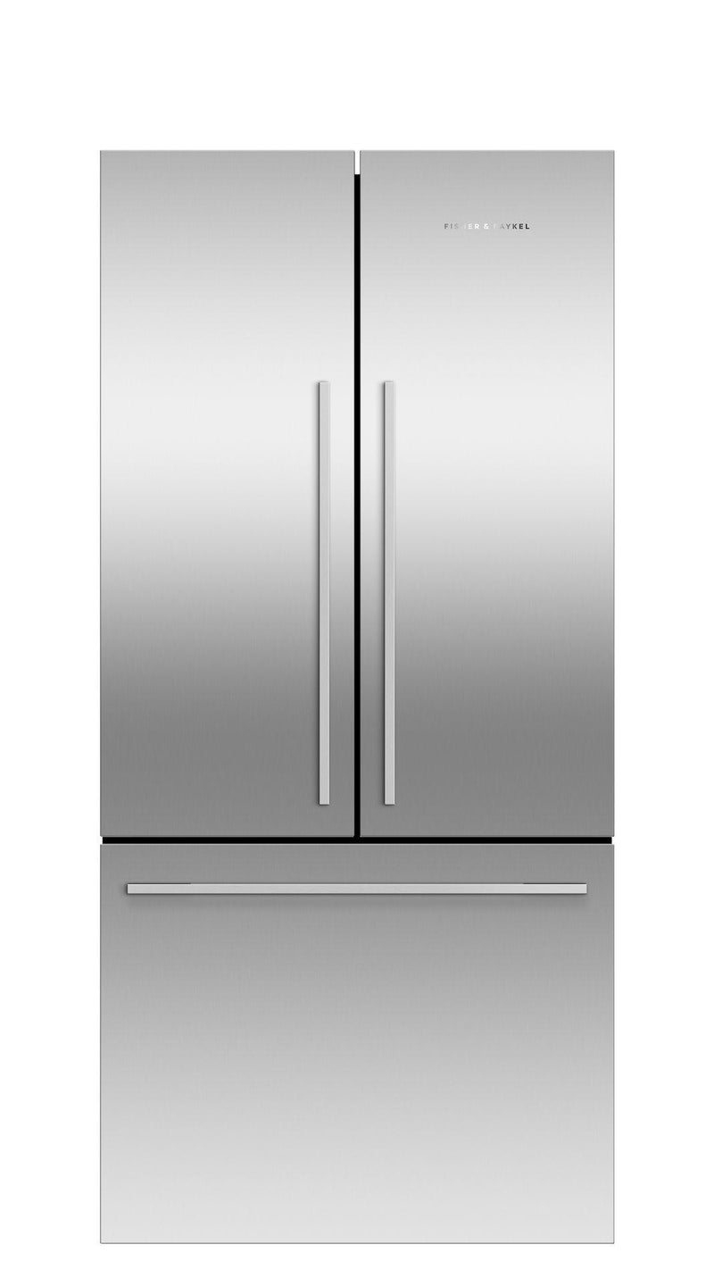 Fisher Paykel - 31 Inch 16.9 cu. ft French Door Refrigerator in Stainless - RF170ADJX4