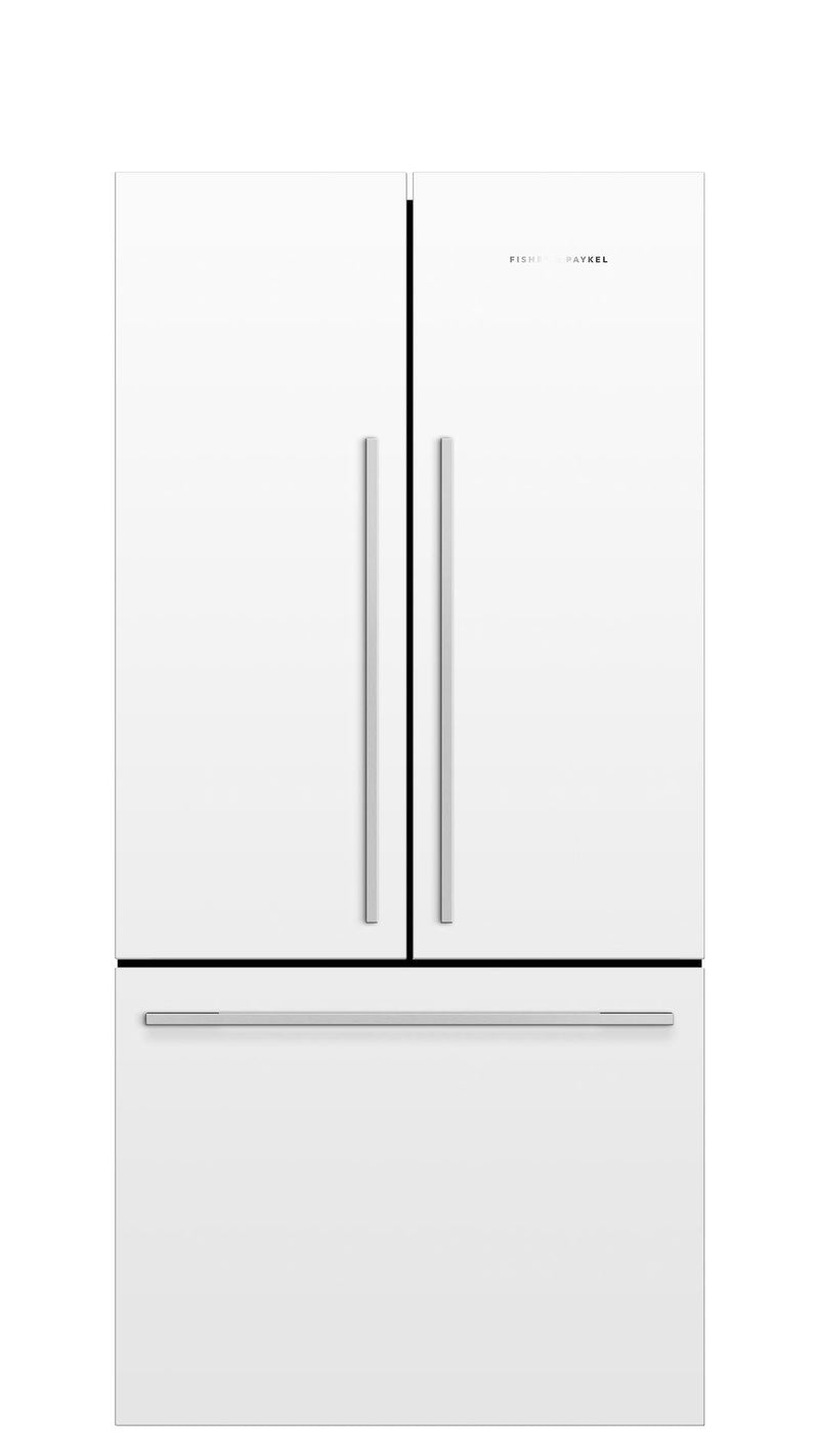 Fisher Paykel - 31 Inch 16.9 cu. ft French Door Refrigerator in White - RF170ADW5 N