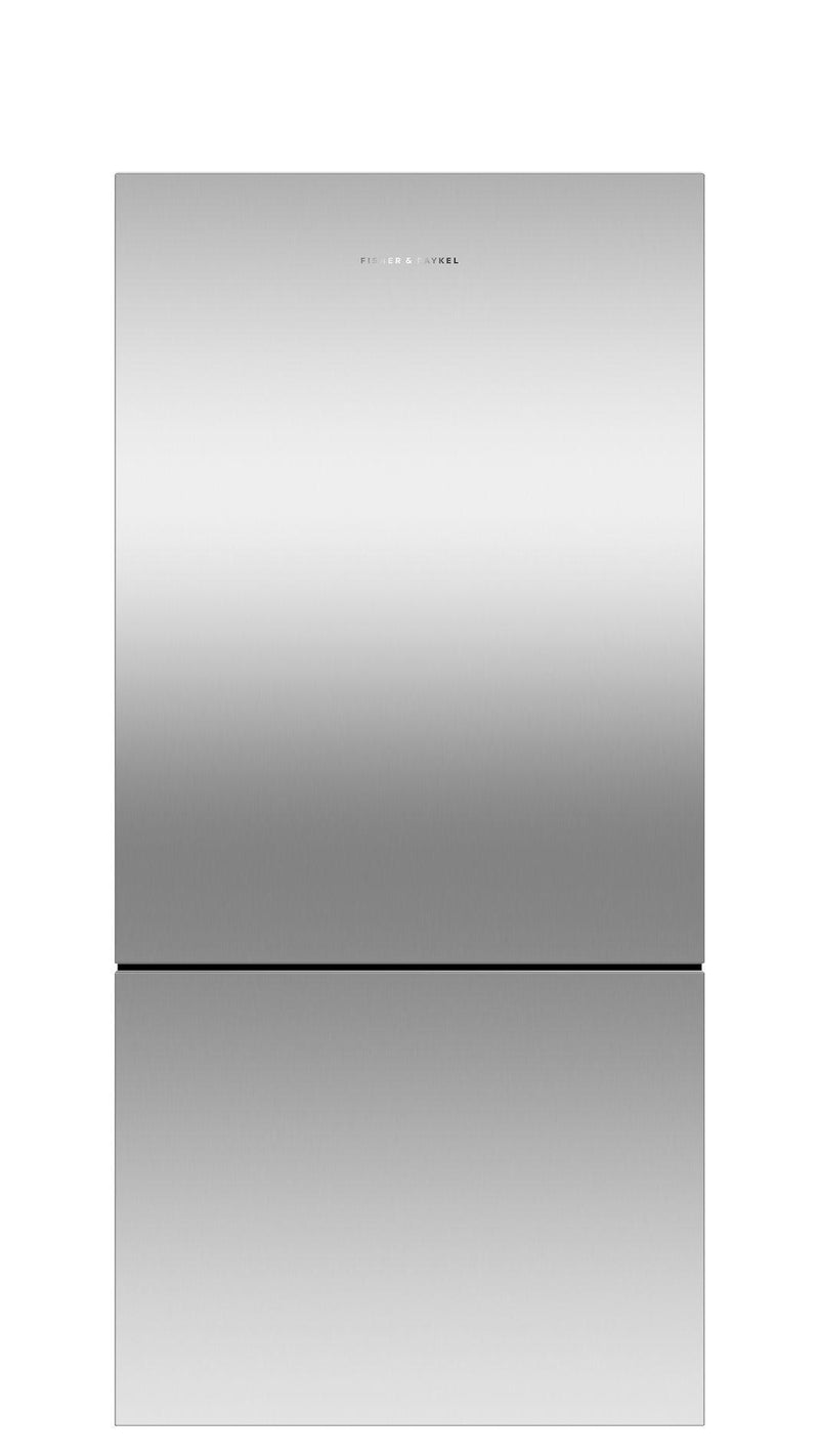 Fisher Paykel - 31.125 Inch 17.5 cu. ft Bottom Mount Refrigerator in Stainless - RF170BLPX6 N