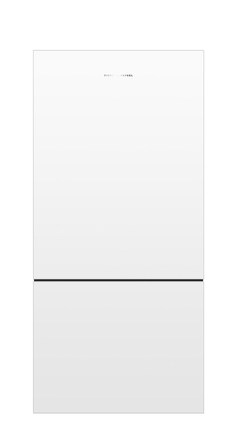 Fisher Paykel - 31.125 Inch 17.5 cu. ft Bottom Mount Refrigerator in White - RF170BRPW6 N