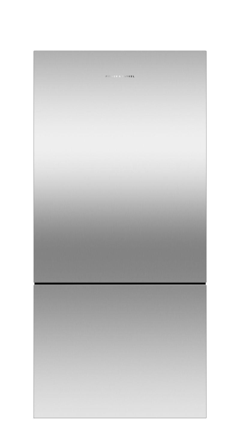 Fisher Paykel - 31.125 Inch 17.5 cu. ft Bottom Mount Refrigerator in Stainless - RF170BRPX6 N
