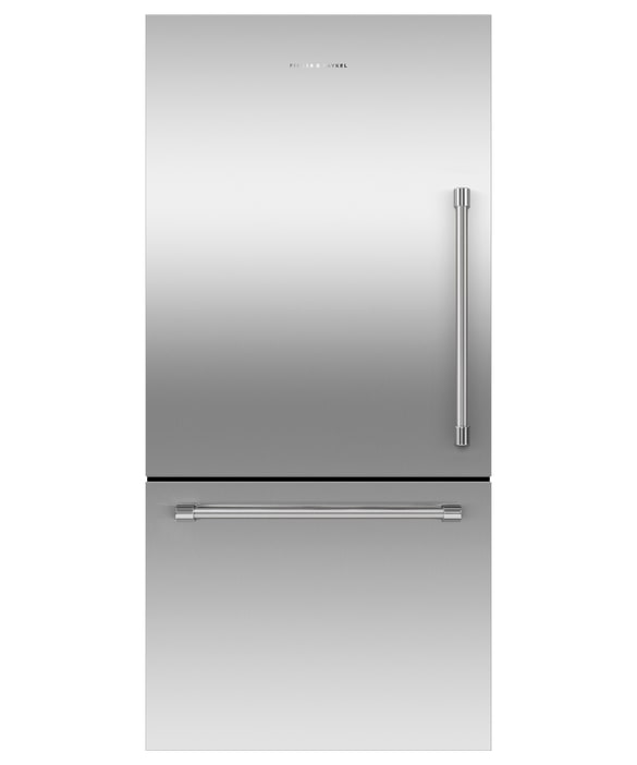 Fisher Paykel - 31.1 Inch 17.1 cu. ft Bottom Mount Refrigerator in Stainless - RF170WLKJX6