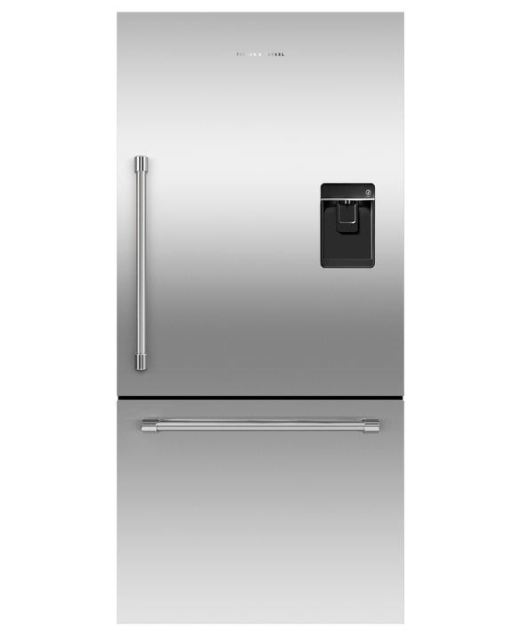 Fisher Paykel - 31.09375 Inch 17.1 cu. ft Bottom Mount Refrigerator in Stainless - RF170WRKUX6
