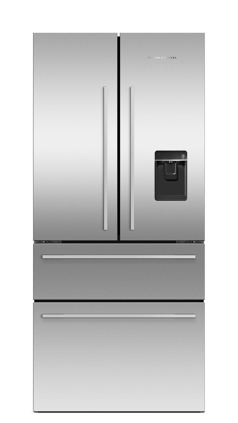 Fisher Paykel - 31.125 Inch 16.8 cu. ft French Door Refrigerator in Stainless - RF172GDUX1