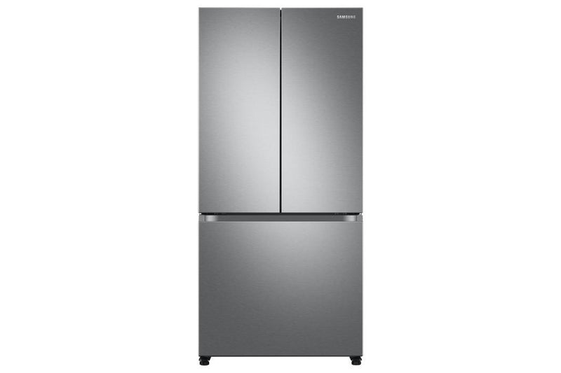 Samsung - 32.125 Inch 17.5 cu. ft French Door Refrigerator in Stainless - RF18A5101SR
