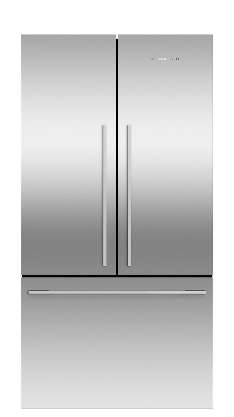 Fisher Paykel - 35.5 Inch 20.1  cu. ft Bottom Mount Refrigerator in Stainless - RF201ADJSX5