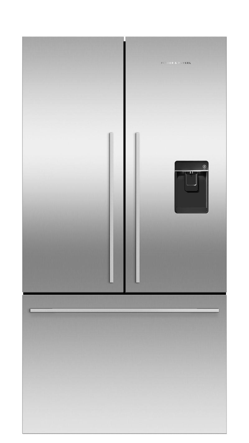 Fisher Paykel - 35.5 Inch 20.1  cu. ft French Door Refrigerator in Stainless - RF201ADUSX5 N