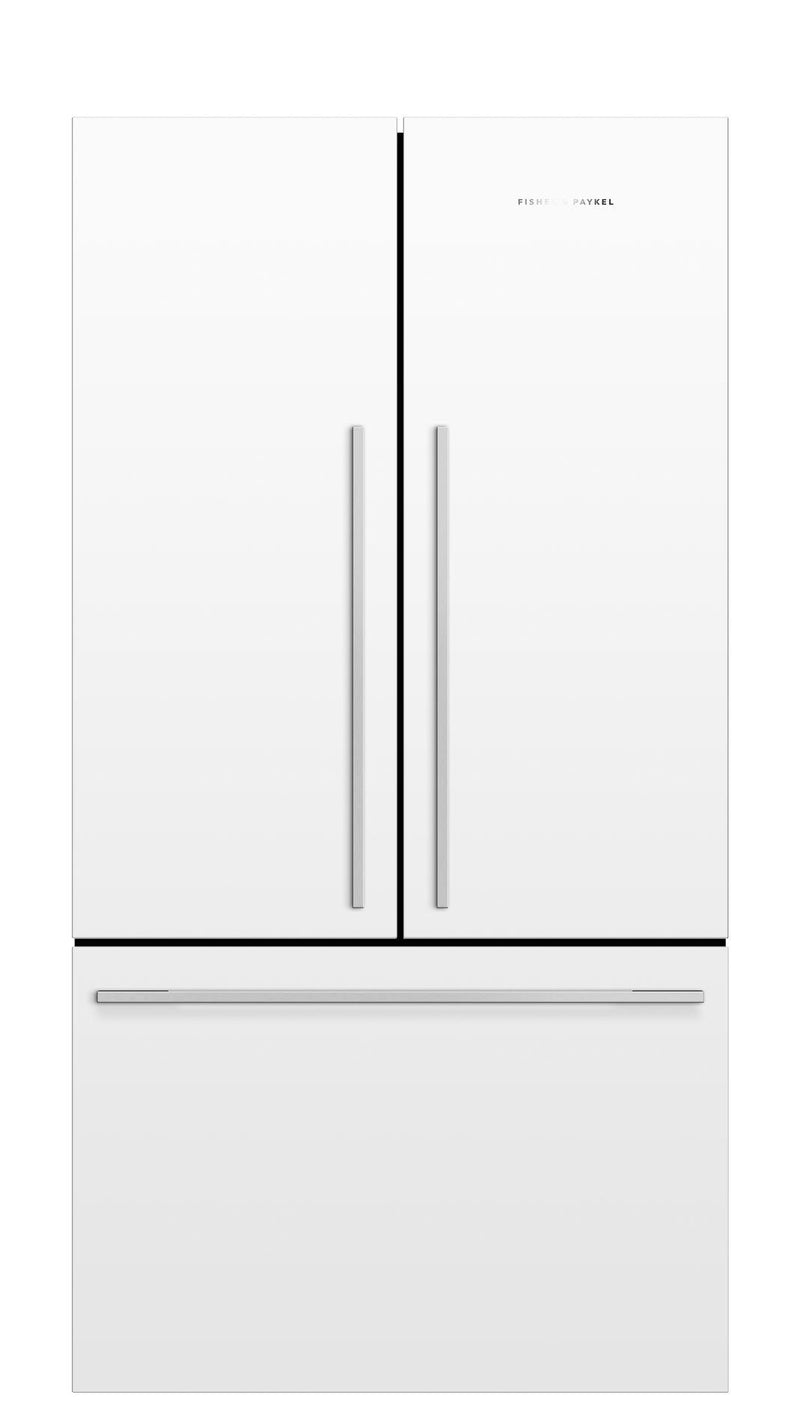 Fisher Paykel - 35.5 Inch 20.1  cu. ft French Door Refrigerator in White - RF201ADW5 N