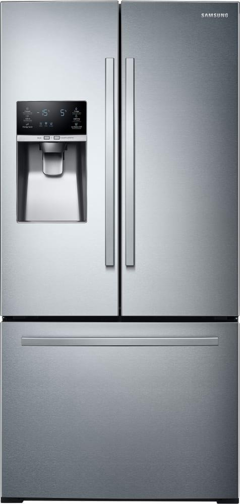 Samsung - 32.8 Inch 25.5 cu. ft French Door Refrigerator in Stainless - RF26J7510SR