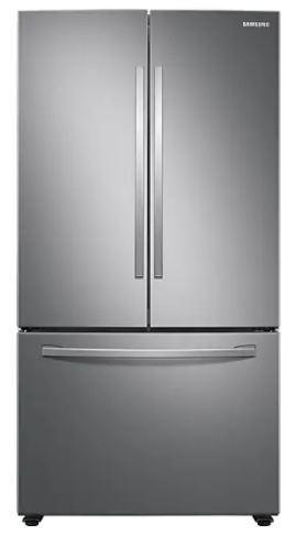 Samsung - 35.8 Inch 28.2 cu. ft French Door Refrigerator in Stainless - RF28T5A01SR