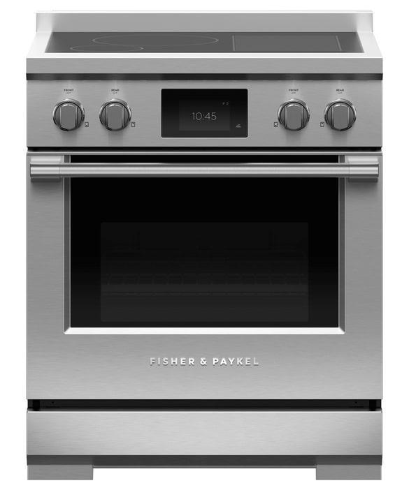 Fisher Paykel - 4 cu. ft  Induction Range in Stainless - RIV3-304