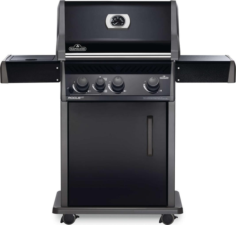 Napoleon Grills - 3 Burner Natural Gas BBQ in Black - RXT425SIBNK-1