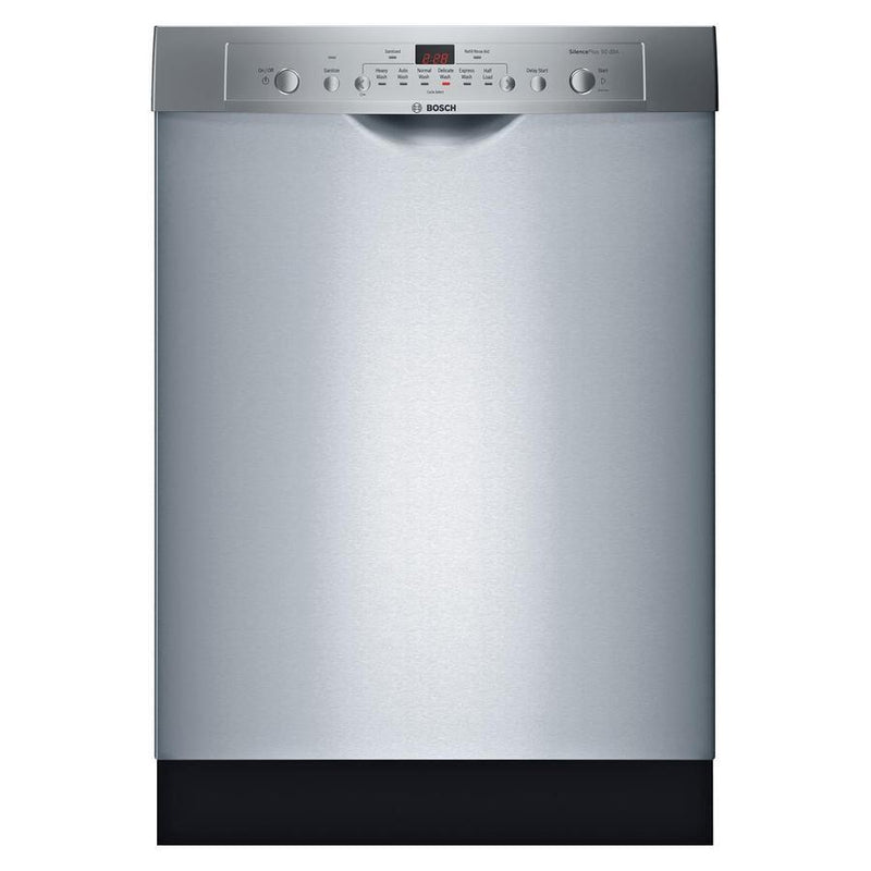 Bosch - 50 dBA Built In Dishwasher in Stainless - SHE3AR75UC