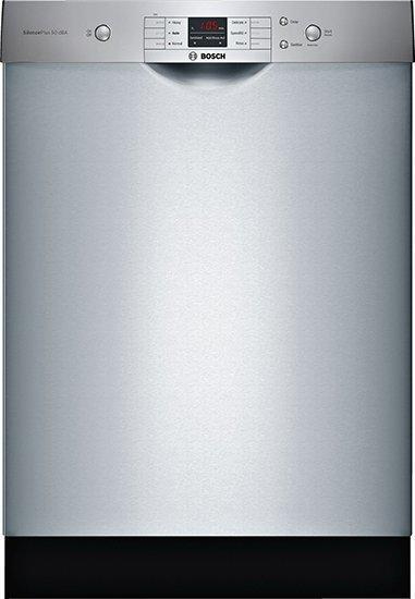 Bosch - 50 dBA Built In Dishwasher in Stainless - SHEM3AY55N