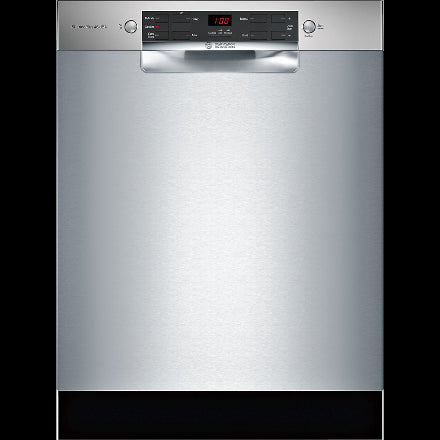 Bosch - 46 dBA Built In Dishwasher in Stainless - SHEM53Z35C