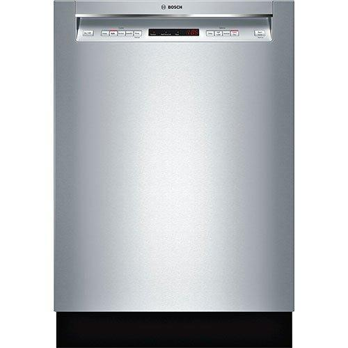 Bosch - 44 dBA Built In Dishwasher in Stainless - SHEM63W55N
