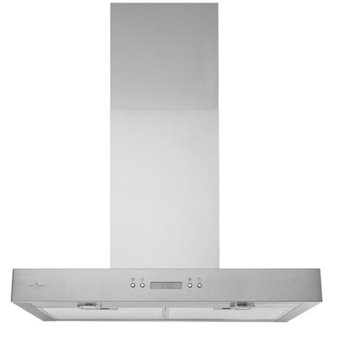 Broan - 30 Inch 450 CFM Wall Mount and Chimney Range Vent in Stainless - VJ70530SS