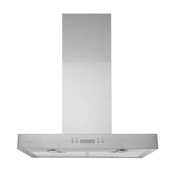 Broan - 35.5 Inch 450 CFM Wall Mount and Chimney Range Vent in Stainless - VJ70536SS