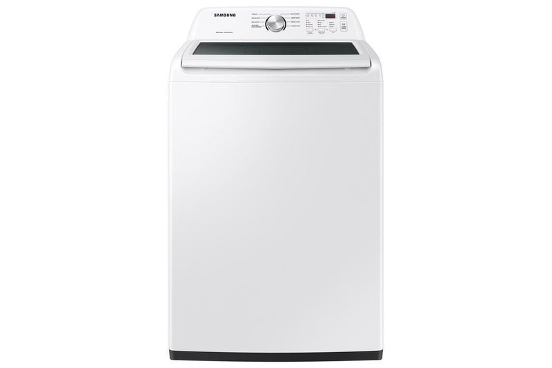 Samsung - 5.0 cu. Ft  Top Load Washer in White - WA44A3205AW