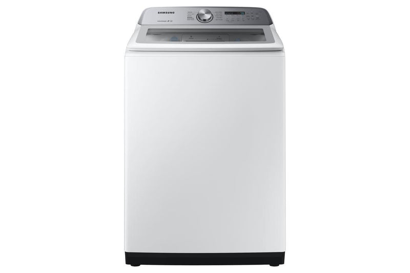 Samsung - 5.8 cu. Ft  Top Load Washer in White - WA50R5200AW
