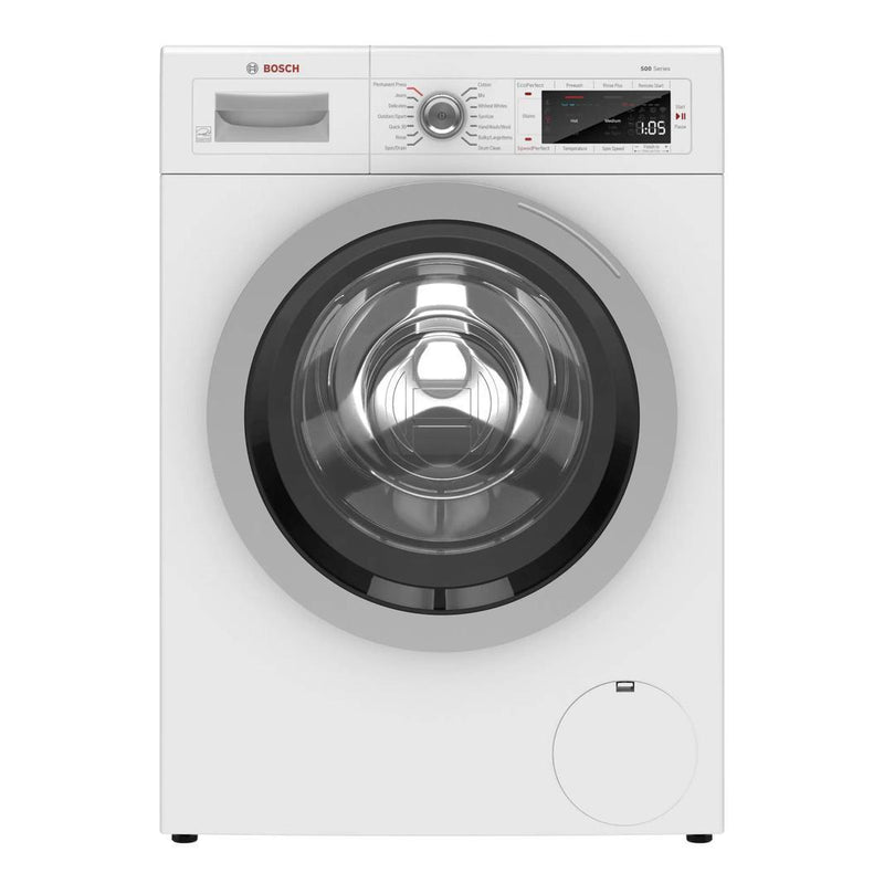 Bosch - 2.2 cu. Ft  Front Load Washer in White - WAW285H1UC