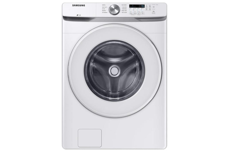 Samsung - 5.2 cu. Ft  Front Load Washer in White - WF45T6000AW