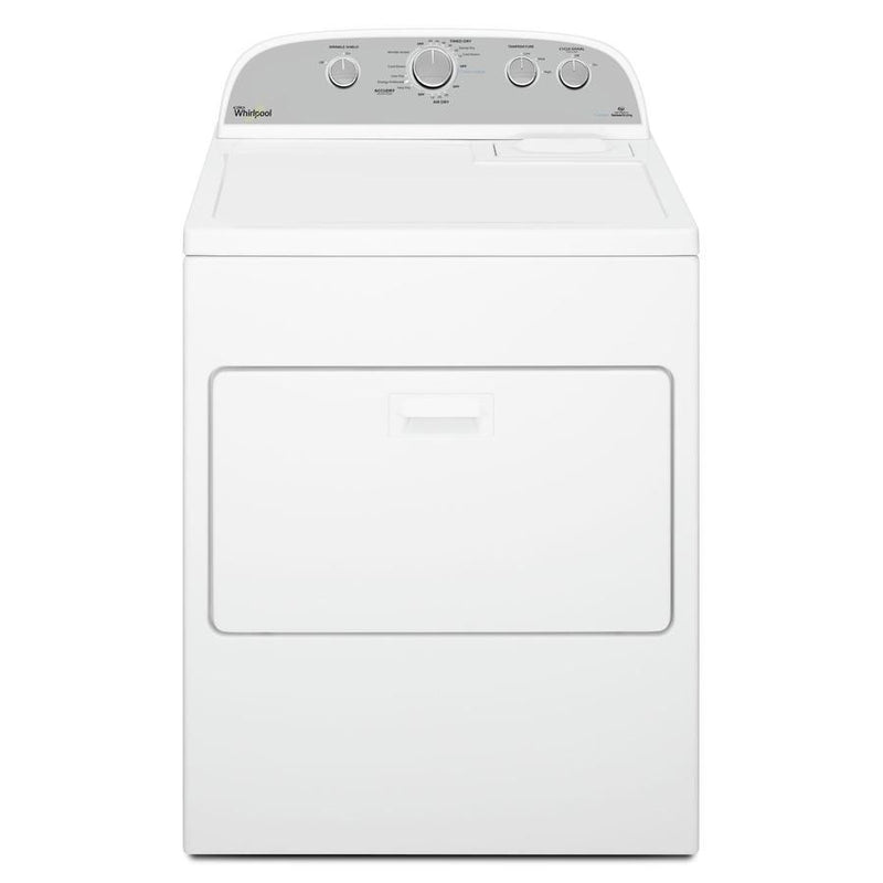 Whirlpool - 7 cu. Ft  Gas Dryer in White - WGD49STBW