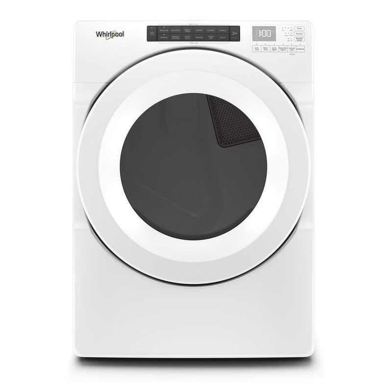 Whirlpool - 7.4 cu. Ft  Gas Dryer in White - WGD5620HW