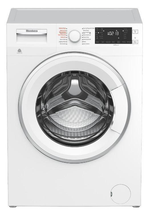 Image of Blomberg - 1.96 cu. Ft All-In-One Washer Dryer Combo in White - WMD24400W