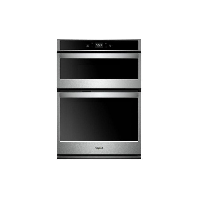 Whirlpool - 6.4 cu. ft Combination Wall Oven in Stainless - WOC54EC0HS