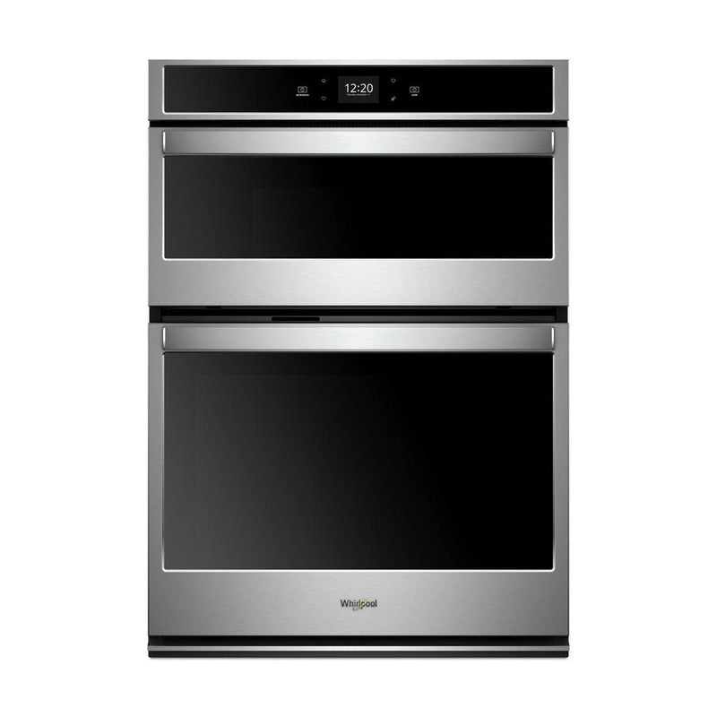 Whirlpool - 5.7 cu. ft Combination Wall Oven in Stainless - WOC54EC7HS