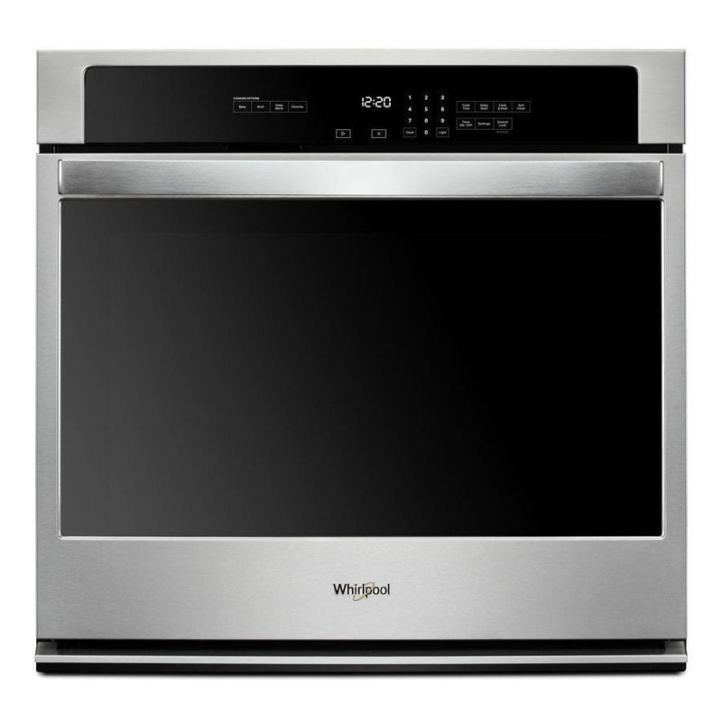 Whirlpool - 5 cu. ft Single Wall Oven in Stainless - WOS31ES0JS
