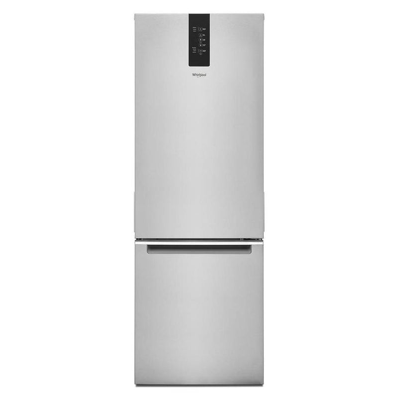 Whirlpool - 24.375 Inch 12.9 cu. ft Bottom Mount Refrigerator in Stainless - WRB533CZJZ
