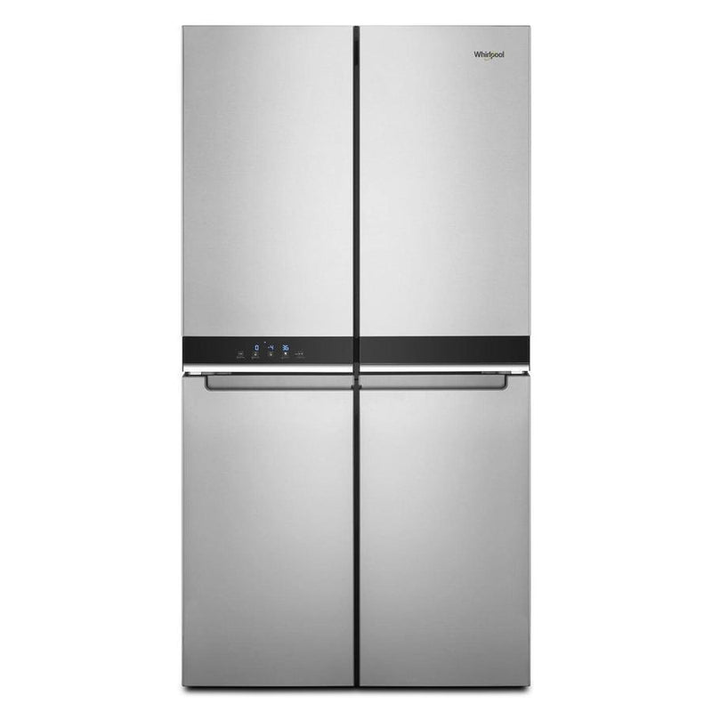 Whirlpool - 35.8 Inch 19.4 cu. ft French Door Refrigerator in Stainless - WRQA59CNKZ
