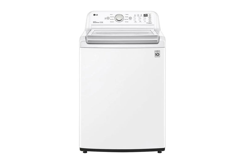 LG - 5.8 cu. Ft  Top Load Washer in White - WT7150CW