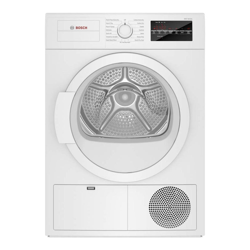 Bosch - 4 cu. Ft  Electric Dryer in White - WTG86403UC
