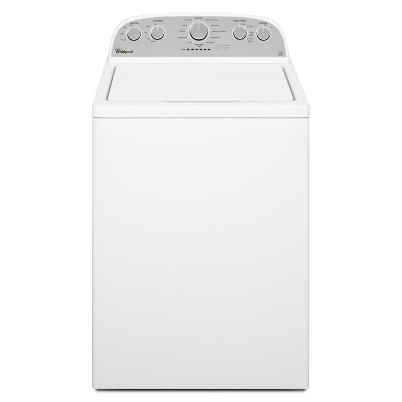 Whirlpool - 5 cu. Ft  Top Load Washer in White - WTW5000DW