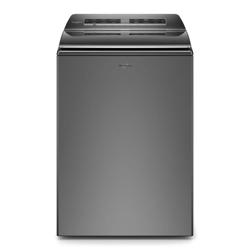 Whirlpool - 6.1 cu. Ft  Top Load Washer in Grey - WTW7120HC