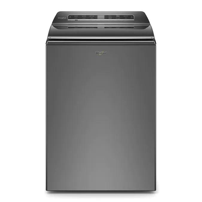 Whirlpool - 6 cu. Ft  Top Load Washer in Grey - WTW8127LC