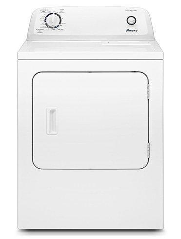 Image of Amana - 6.5 cu. Ft Electric Dryer in White - YNED4655EW