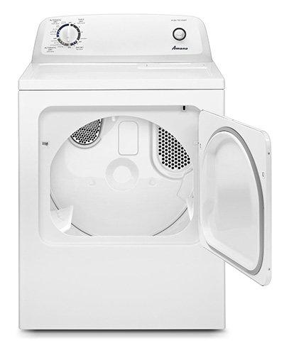 Amana - 6.5 cu. Ft  Electric Dryer in White - YNED4655EW