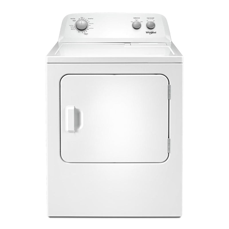Whirlpool - 7 cu. Ft  Electric Dryer in White - YWED4850HW