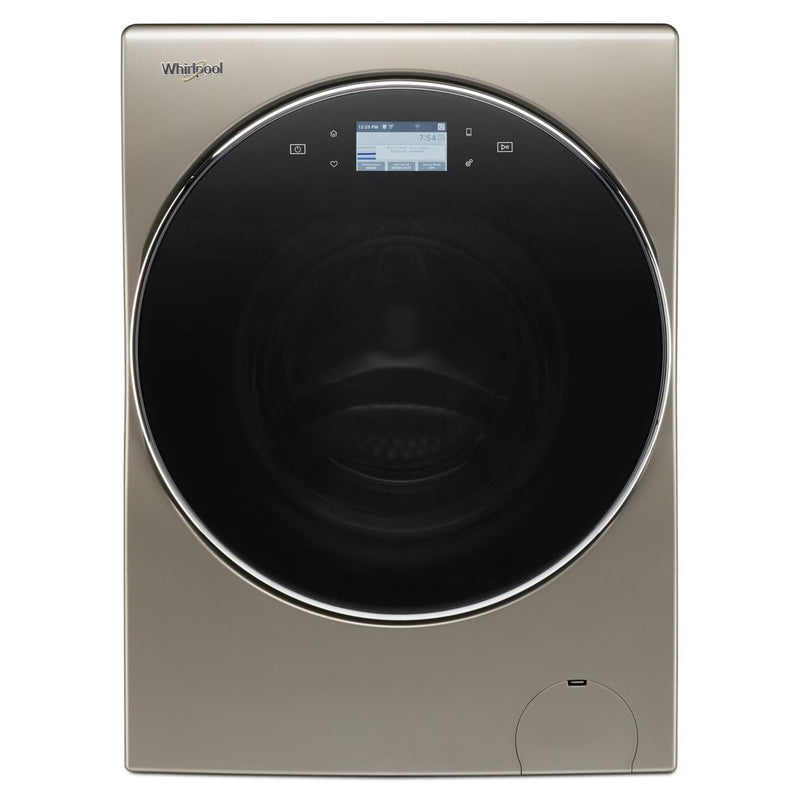Whirlpool - 3.2 cu. Ft  Front Load Washer/Dryer Combo in Cashmere - YWFC8090GX