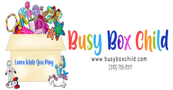 Busy Box Child Play Dough sensory kits, Sensory play, Monthly Subscription Box for kids