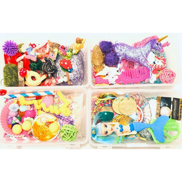 4 Pack Minis- Unicorn, Fairy Garden, Mermaid and Cupcake-Busy Box Child Store-Busy Box Child